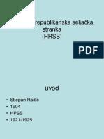 Hrvatska Republikanska Seljaèka Stranka (1)