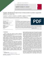 Applied Catalysis A- General Volume 367 issue 1-2 2009 [doi 10.1016%2Fj.apcata.2009.07.037] F. Frusteri; F. Arena; G. Bonura; C. Cannilla; L. Spadaro; O. Di -- Catalytic etherification of glycerol by tert-butyl alcohol to.pdf