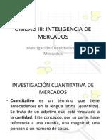 Unidad 3 Inteligencia de Mercados