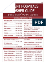 Patient Hospitals Kosher Guide - Dec '09