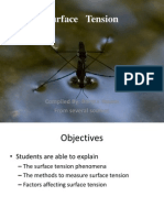 Surface Tension Elearning