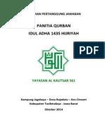 LPJ Panitia Qurban 1435H