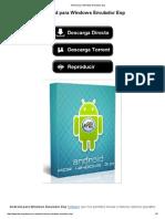 Android para Windows Emulador ESP (YOUWAVE).pdf