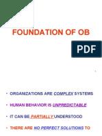 Foundation of Ob