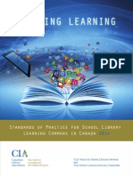 Leading Learning - Standards of Practice for School Library Learning Commons in Canada 2014