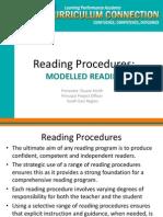 modelled reading