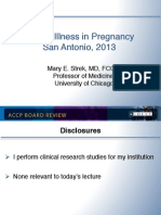 Pregnancy and critical Illness/CCM board review