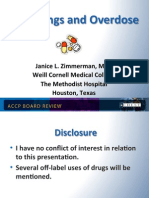 Poisonings and overdose/CCM Board review