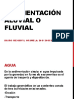 Sedimentación Aluvial o fluvial.pptx