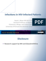Infection in Patients with AIDS/CCM Board review