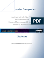 Hypertensive Emergencies/CCM Board review