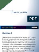 ACCP-SEEK/CCm Board review