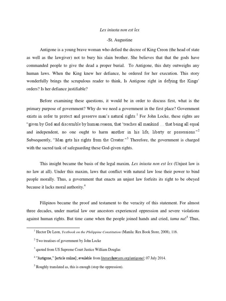 My turn essay