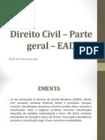 1) Direito Civil – Parte geral – EAD 1.pptx
