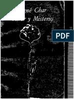 CHAR, R - Furor y misterio. Colección Visor de Poesía (Volumen 96) - Visor, Madrid, 1979.pdf