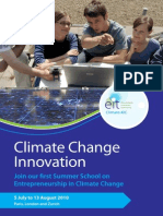 Flyer Climate Change Innovation