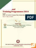 SITRA_Training Prog 2014_under ITEC_SCAAP_TCS.pdf