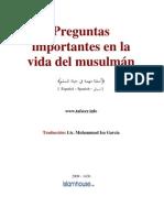 Preguntas Import Antes en La Vida Del Musulman