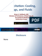 Resuscitation-Cooling-Drugs and fluids/CCM Board review