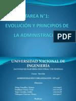 EVOLUCIÓN Y PRINCIPIOS DE LA ADMINISTRACIÓN.ppt