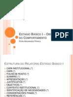 Itens do Relatório de Estágio.pptx