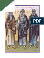 Patriarch's Triptych Portrait