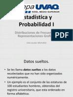 Distribuciones de frecuencia y representaciones graficas