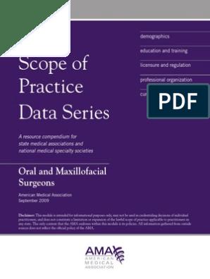 Sop Oral Surgeons AMA   Oral And Maxillofacial Surgery