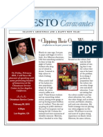 Ernesto Caravantes Winter 2009 Newsletter