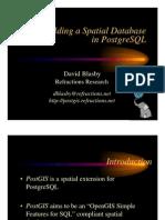 OSDB2 PostGIS Presentation