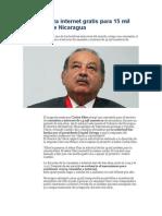 Slim autoriza internet gratis para 15 mil maestros de Nicaragua.docx