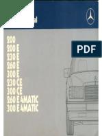 1 INTRO Mercedes-BenzW124