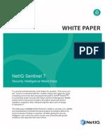 Netiq Sentinel 7 White Paper