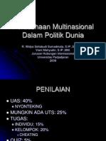 Perusahaan Multinasional Dalam Politik Dunia3