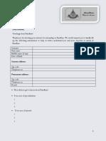 Bandhan Internship Form