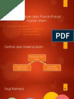 Kedudukan Dan Pokok Ajaran Islam