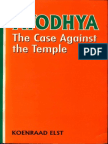 Ayodhya The Case Against Temple