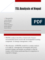 PESTEL Model Analysis of NEPAL