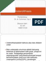 Ureterolithiasis