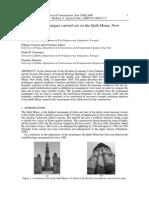 SAHC 2006 - Ramos Casarin Algeri LourencªPo Modena - Investigation Techniques Carried Out on the Qutb Minar, New Delhi, India
