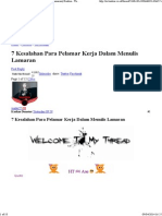 7 Kesalahan Para Pelamar Kerja Dalam Menulis Lamaran _ Kaskus - The Largest Indonesian Community