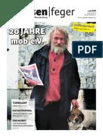 20 Jahre mob e. V. - Ausgabe 19, 2014 des strassenfeger