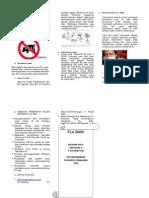 Leaflet Flu Babi