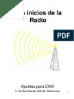 Los inicios de la Radio
