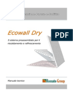 Manuale_riscaldamento a Soffitto in Cartongesso_ECOwall Dry