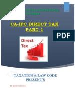 CA IPCC Direct Tax Nov2014