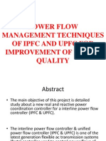 Power Flow Management Techniques of Ipfc and Upfc for Improvement of Power Quality