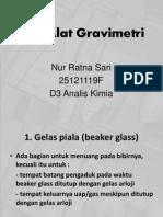 alat gravimetri