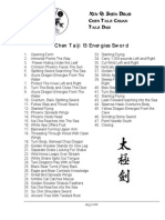 Taijiquan (Tai Chi) - Chen - 13 Methods Sword (jian) 48 Forms List - English.pdf