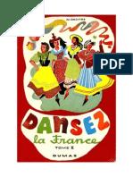 Dansez la France Danses des Provinces Françaises T2 Decitre.doc